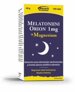Melatoniinista apua nukahtamiseen