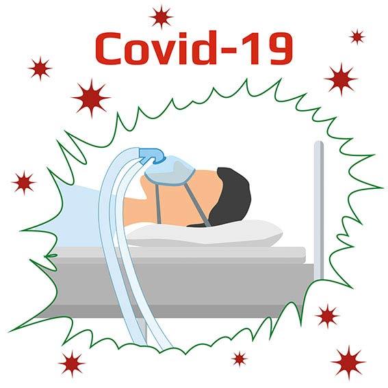 Sömnapné kan öka risken för allvarlig coronavirussjukdom